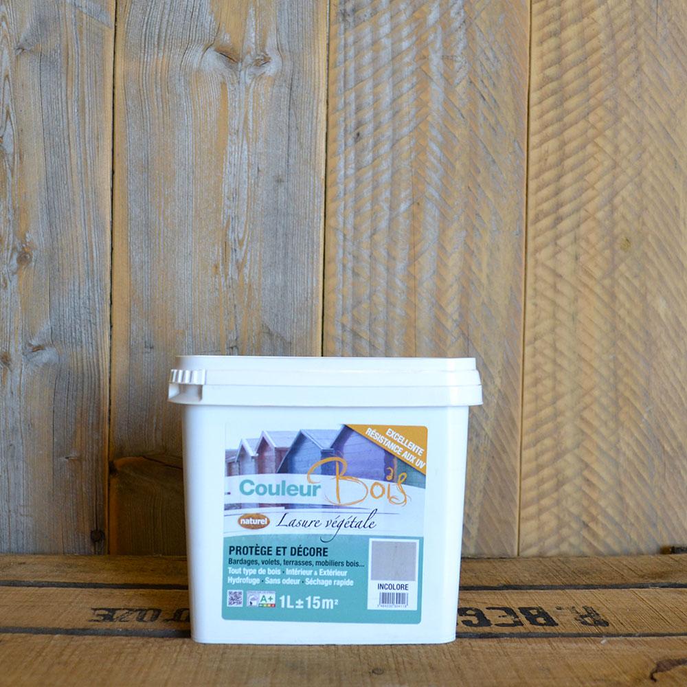 Lasure Bois Ecologique Pour Interieur Exterieur Couleurs 1l