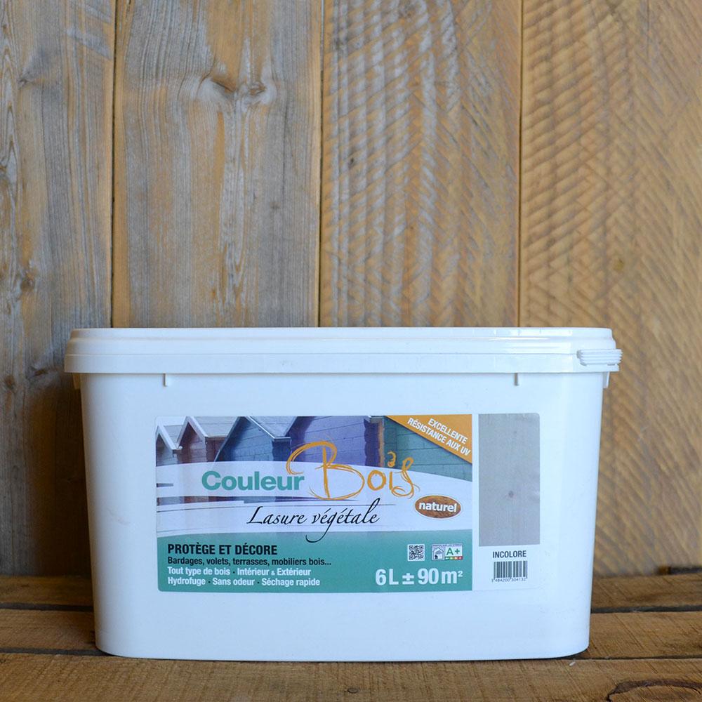 lasure bois cologique pour interieur exterieur couleurs 6l 9501 6 achetez votre peinture. Black Bedroom Furniture Sets. Home Design Ideas