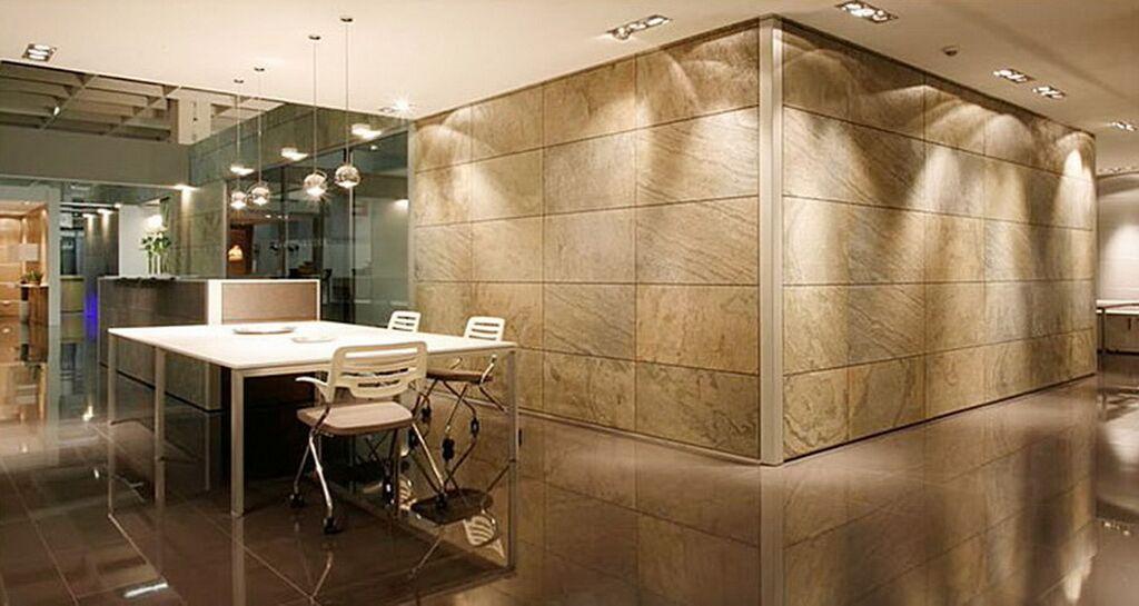 feuille de pierre salle de bain feuilles de pierre flexipierre ardoise feuille de pierre salle. Black Bedroom Furniture Sets. Home Design Ideas